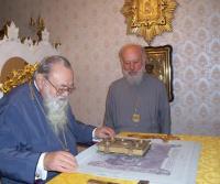 Архиепископ Всеволод Майданский и митрополит Владимир